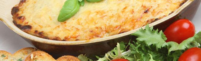 | Überbackene Grillgerichte